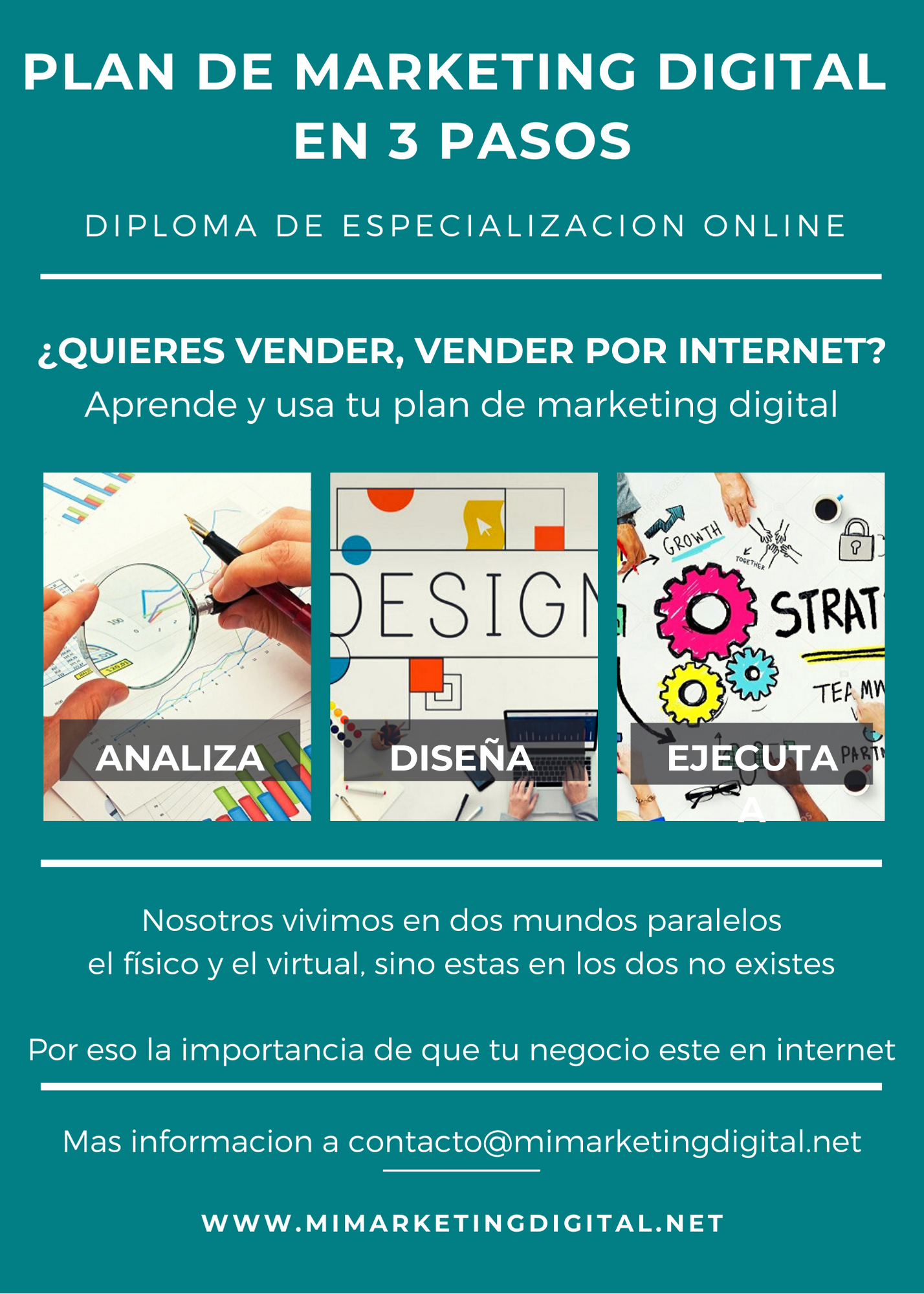 marketind digital en 3 pasos